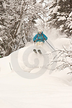 Freeride In Siberia Royalty Free Stock Images - Image: 23927049