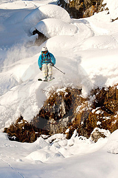 Freeride In Siberia Royalty Free Stock Photography - Image: 23927067