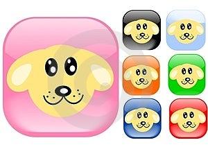 Dog Icons Stock Photos - Image: 23929213