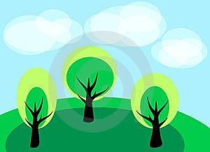 Simple Landscape Stock Photo - Image: 23930580