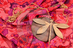 Dragonfly Neckless Royalty Free Stock Photo - Image: 23933175