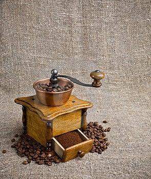 Moedor De Café Fotos de Stock Royalty Free - Imagem: 23936818