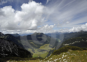 Alpine Landscape And Beautiful Skies Royalty Free Stock Images - Image: 23938139