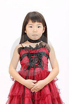 Little Asian Girl Royalty Free Stock Photo - Image: 23942505