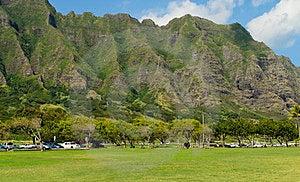 Hawaiian Mountain Terrain Royalty Free Stock Photos - Image: 23942588