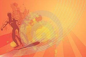 Orange Background Royalty Free Stock Photos - Image: 23958018