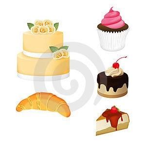Bakery Set Royalty Free Stock Image - Image: 23959026