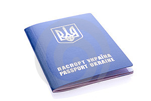 Foreign Passport Of Citizen Of Ukraine Royalty Free Stock Photography - Image: 23962247