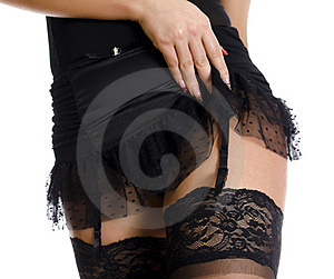 Part Of Female Body In Pantyhose Stock Images - Image: 23966984
