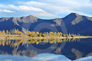 In October Lhasa River Stock Photography - Image: 23973942