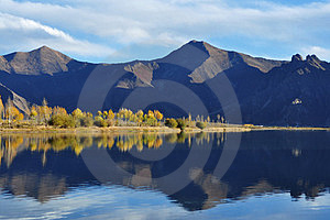 In October Lhasa River Royalty Free Stock Photo - Image: 23973985