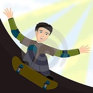 Skateboard Kid Stock Images - Image: 23974124