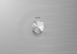 Volume Control Knob Royalty Free Stock Images - Image: 23979739