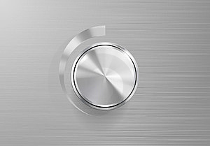 Volume Knob Control Stock Images - Image: 23979744