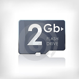 SD Memory Flash Card Royalty Free Stock Image - Image: 23979876