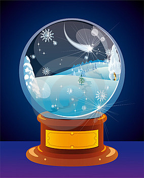 Snow Globe Royalty Free Stock Images - Image: 23990409