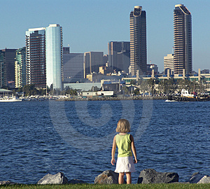 San Diego, la Californie Photos libres de droits