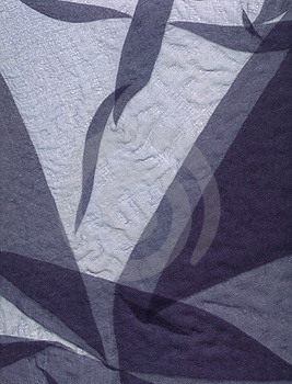 Scanned gauze abstract Stock Photography