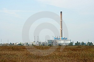 Powerplant infrastructure Stock Photo
