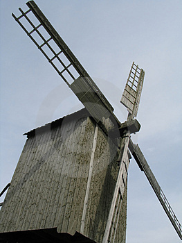 Old windmil Stock Images