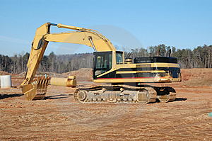 Earth Movers Stock Image