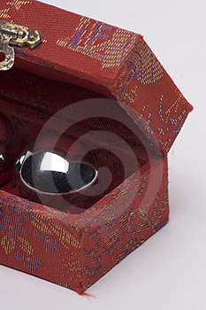 Chinese Ball In A Box Free Stock Images