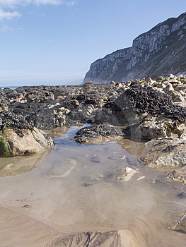 Rock Pools Royalty Free Stock Photo