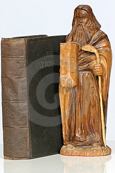 Sacre scritture sante Fotografia Stock