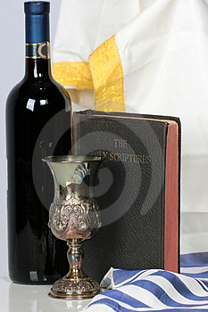 Still life of Judaica Royalty Free Stock Images