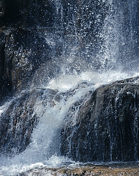 Waterfall Royalty Free Stock Photo