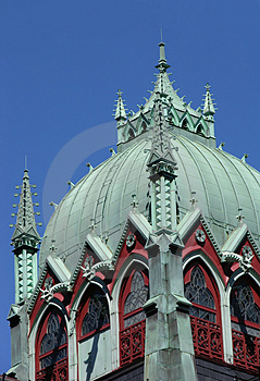 Trinity Church Cupola Royalty Free Stock Images