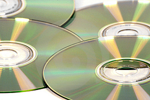 Cds Free Stock Photography