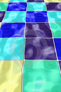 Rippled Pool Tiles Free Stock Photos