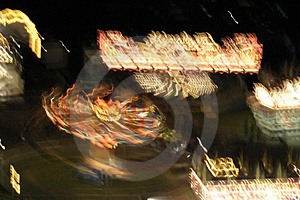 Carnival lights Royalty Free Stock Images
