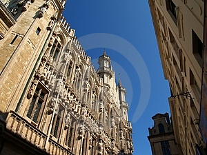 Brussels Town Hall Free Stock Image