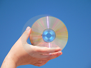 Compact Disk Free Stock Images