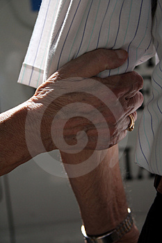 Hold Me Free Stock Photography
