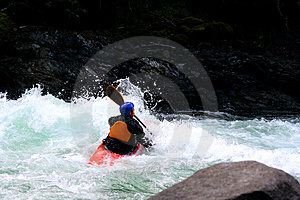 Kayak Photo stock