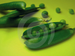 Peas 1 Royalty Free Stock Photography