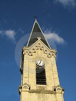 Wierzchołek kościół Zdjęcie Royalty Free