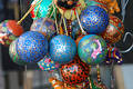 Decorative balls Stock Photos