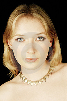 Studio Portrait Royalty Free Stock Image - Image: 2400386