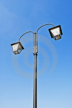 Old Style Street Lamp Stock Image - Image: 24004551
