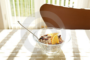 Nutritious Breakfast Royalty Free Stock Images - Image: 24006719