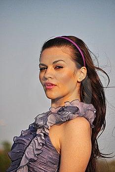 Portrait Of A Woman Stock Image - Image: 24007491