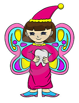 Tooth Fairy Royalty Free Stock Images - Image: 24008669