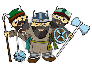 Vikings Stock Photography - Image: 24008752