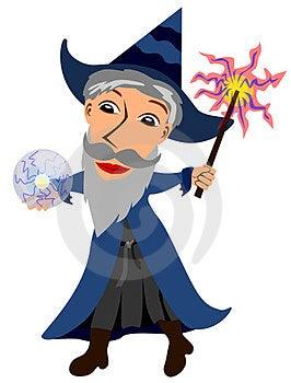 Wizard Stock Photo - Image: 24008800