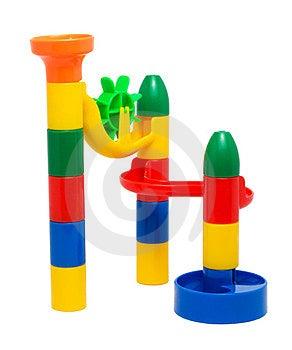 Plastic Toy Slide Stock Photography - Image: 24008952