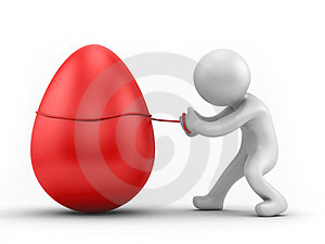 Egg Pull Stock Photos - Image: 24010373